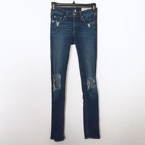 Rag & Bone Preston Distressed Skinny Jeans